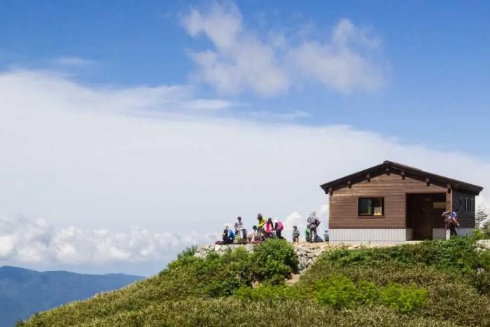 Japan-Mount-Haku-Hut