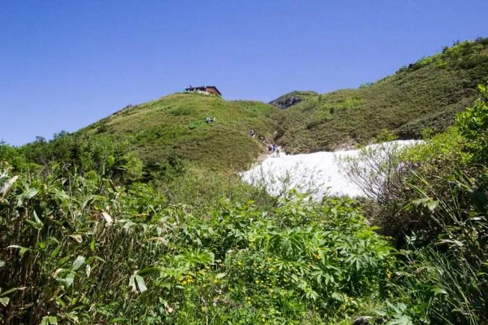 Japan-Mount-Haku-Snowfield