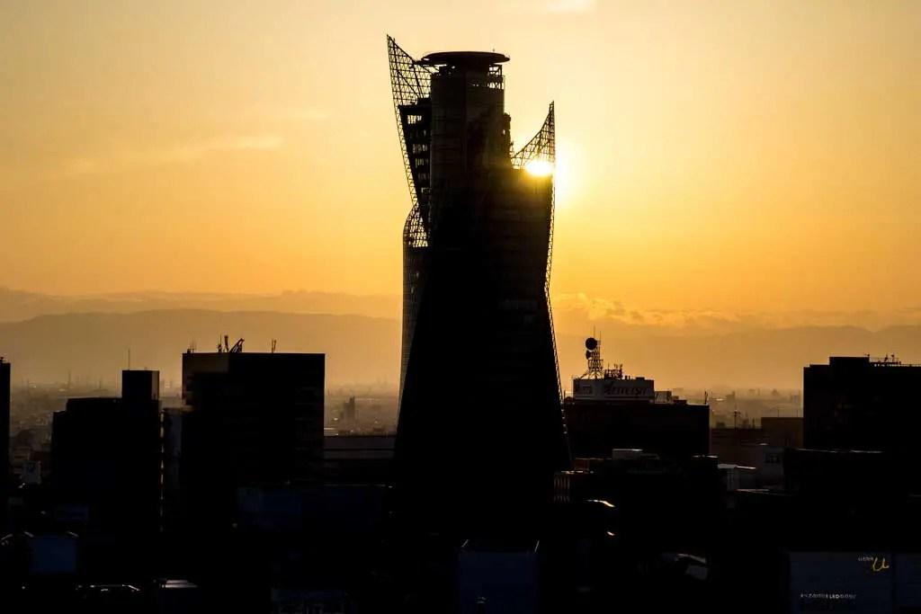 Japan-Nagoya-Sunset