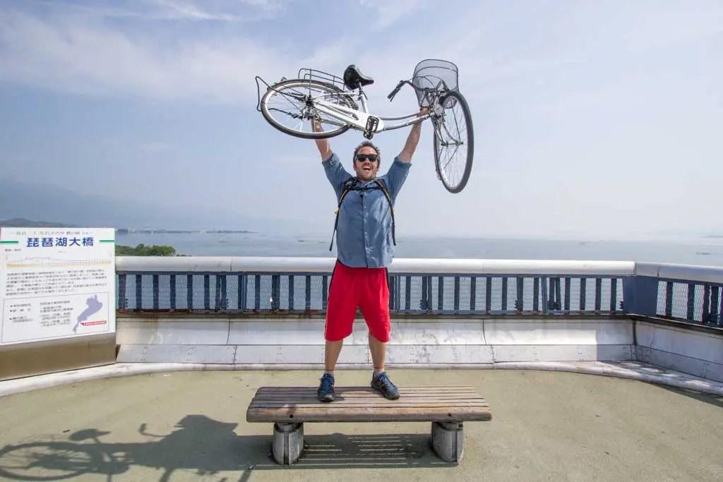 Japan-Shiga-Lake-Biwa-Self
