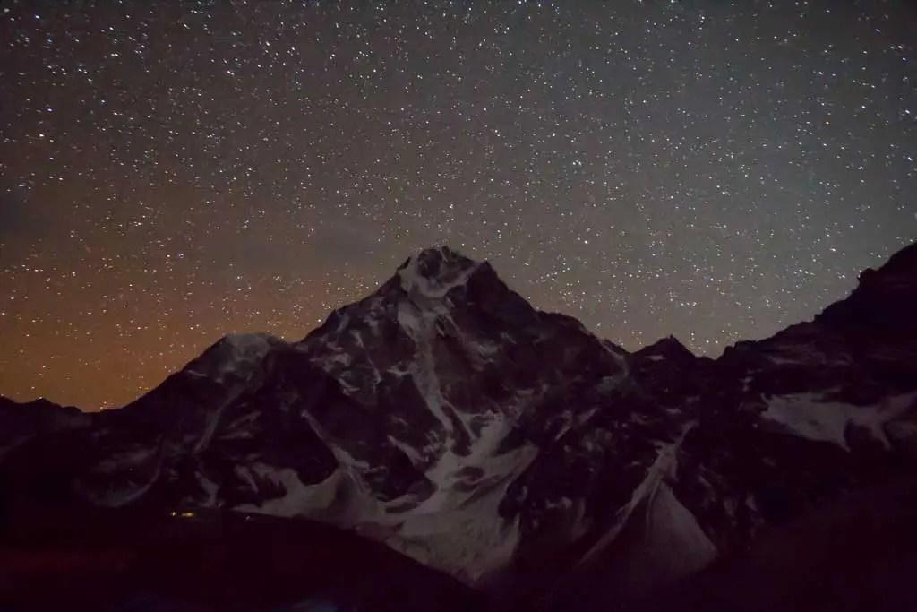 Nepal-Dzongla-Night