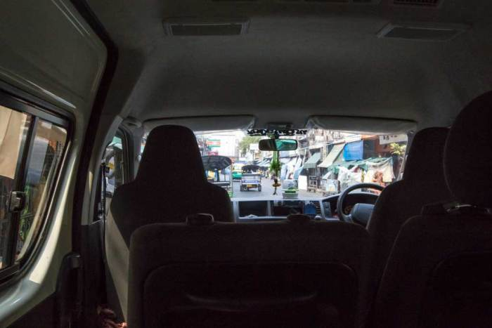 Thailand-Bangkok-Van