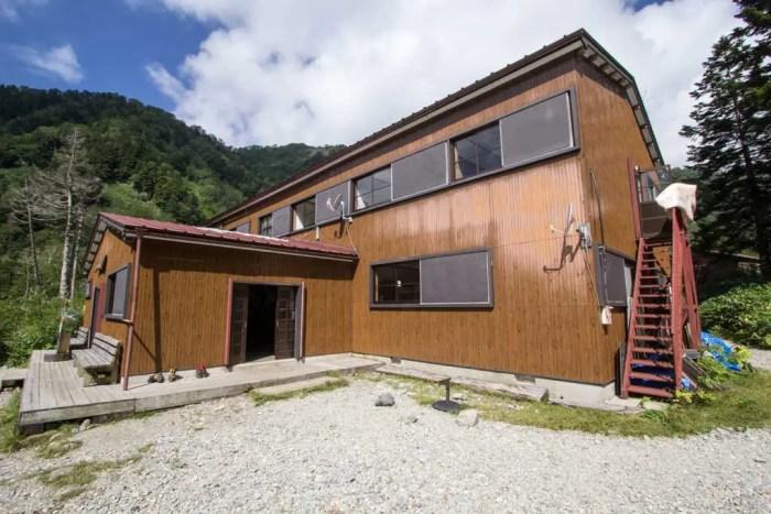 Yarigatake Trail Hut