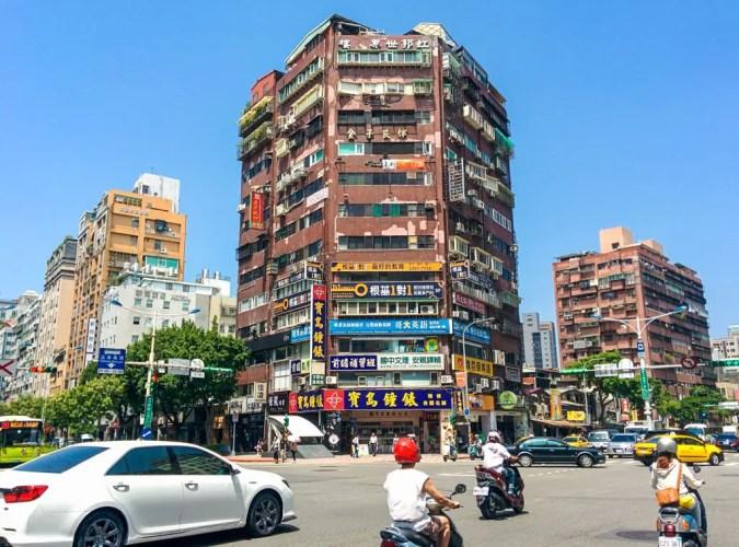 Taiwan-Taipei-Streets