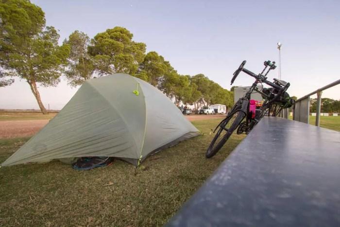 Australia-Mallala-Tent