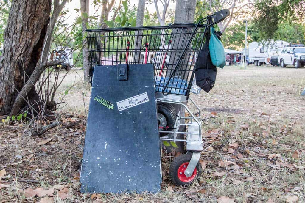 australia-outback-shopping-trolley