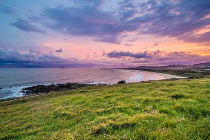 Australia-Coffs-Harbor-Sunset