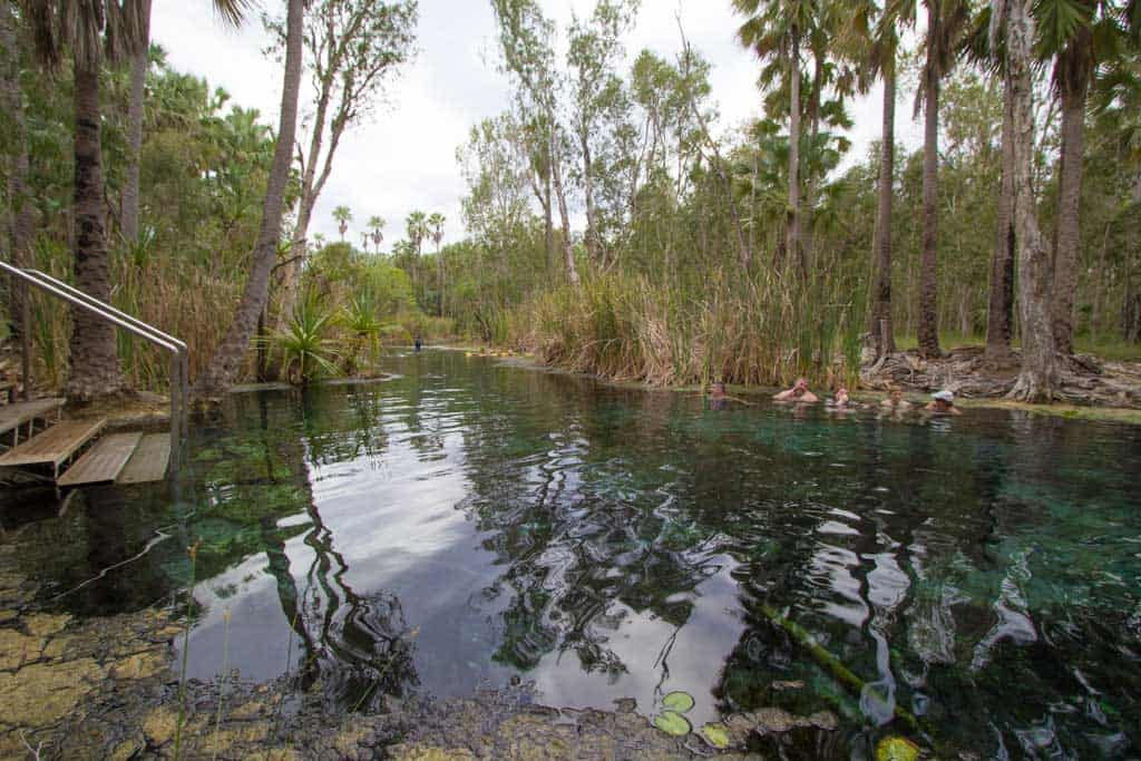 Australia-Mataranka-Hot-Springs
