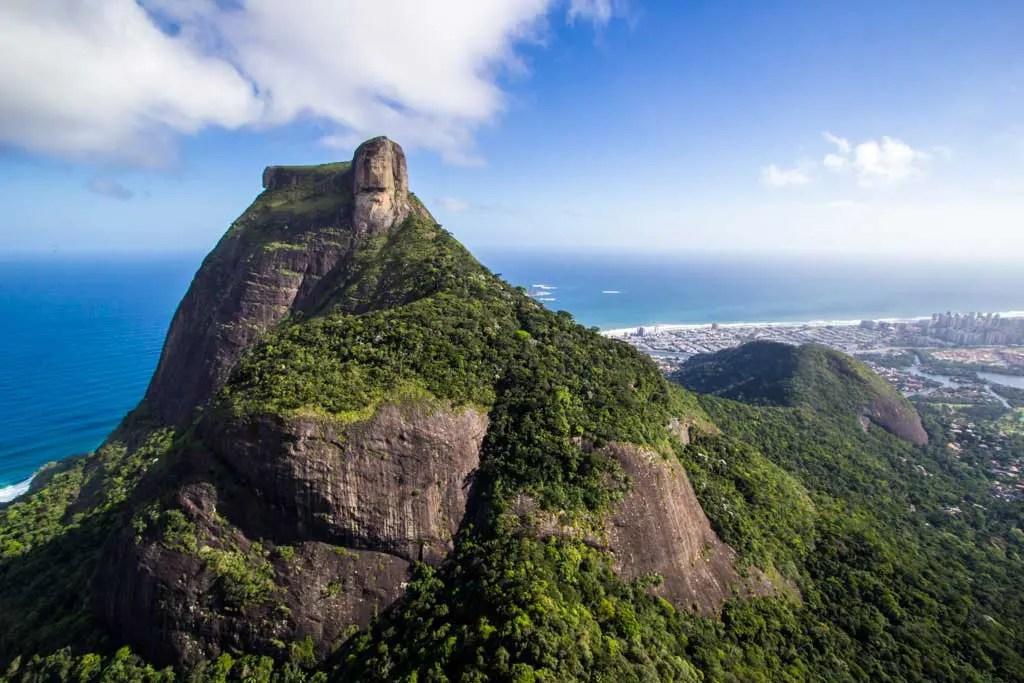 Pedra da Gavea - Brazil 💙💙💙 Pic by @gberds . #