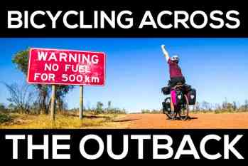 Photo Gallery: Bicycling Across Australia's Outback