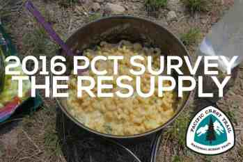 PCT Class of 2016 Survey: The Resupply Guide