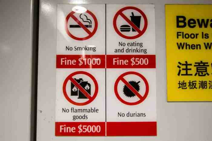 Singapore-Prohibited-Sign