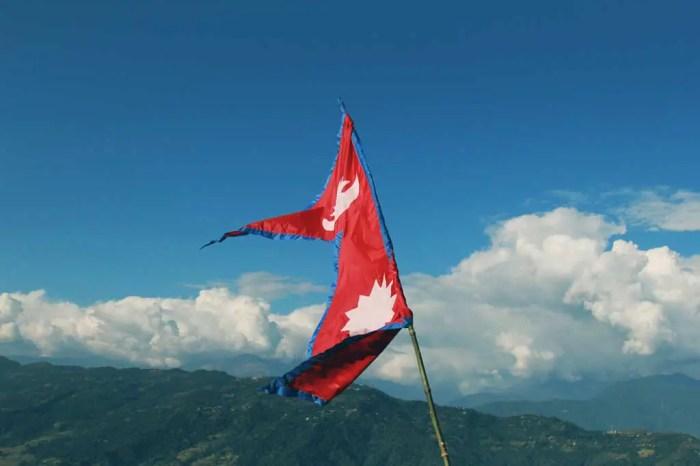 Stock-Nepal-Flag