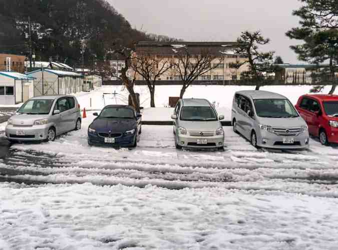 Japan-Fukui-Parking-Spaces