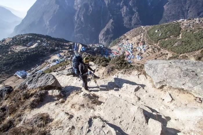 Nepal-Namche-Bazaar-Climb-Out