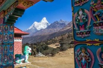 Nepal-Tengboche-Monastery-Ama-Dablam