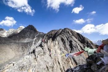 Nepal-Dingboche-Nangkartshang-Peak-Ridge