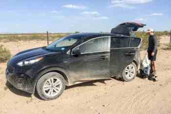 CDT-New-Mexico-Souther-Terminus-Car-1