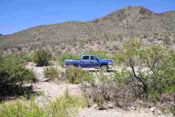 CDT-New-Mexico-Souther-Terminus-Truck