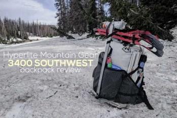 Hyperlite Mountain Gear 3400 Southwest Review
