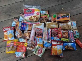 Hiker-Food-Resupply