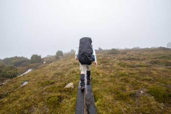 Tasmania-Overland-Track-Bad-Weather