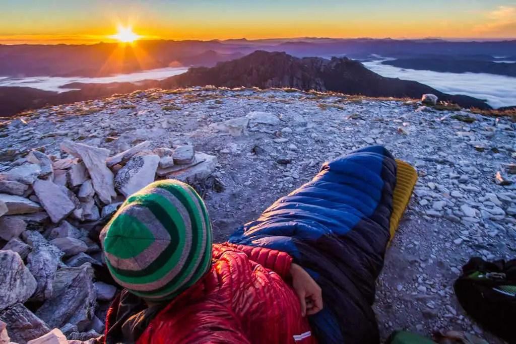 Australia-Tasmania-Frenchmans-Cap-Sunrise