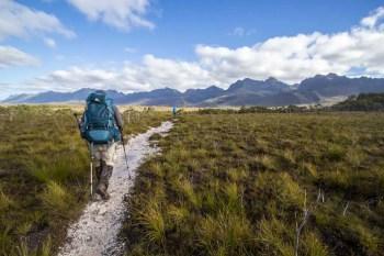 Tasmania-Western-Arthurs-Approach
