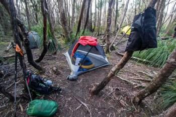 Tasmania-Western-Arthurs-Campsite-1
