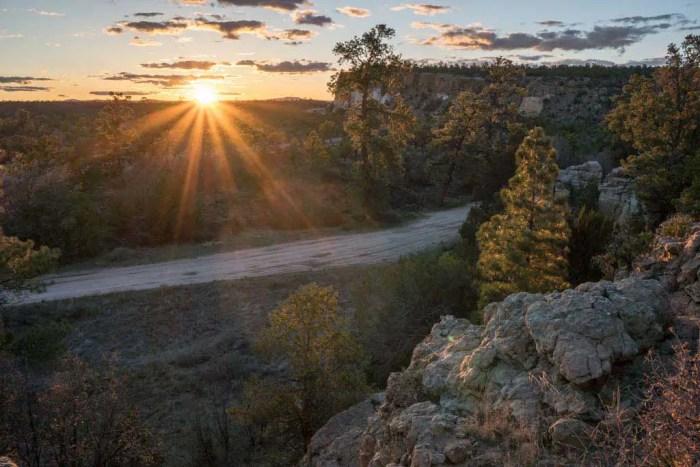 CDT-New-Mexico-Cebolla-Alternate-Sunset