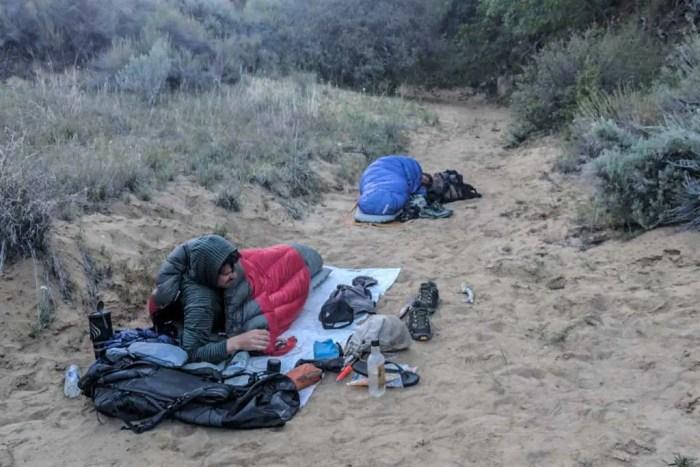 Cowboy Camping Hikers