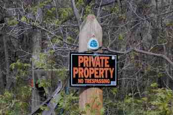 CDT-New-Mexico-Cuba-Marker-Private-Sign
