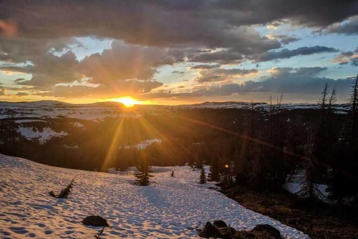 CDT-Colorado-Cumbres-Snow-Sunset
