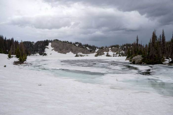 CDT-Colorado-Frozen-Lake-Dark-Clouds