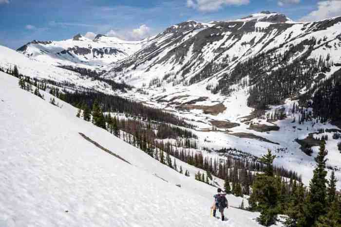 CDT-Colorado-Moist-Snowy-Hillside-Ice-Axe