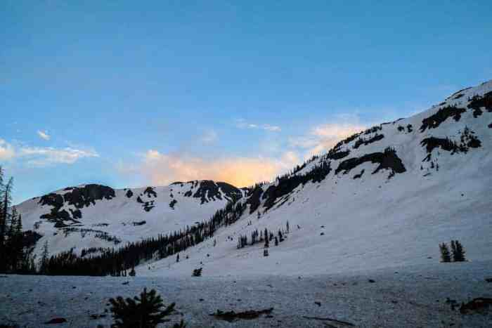 CDT-Colorado-Snow-Mountain-Sunset