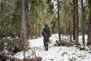 CDT-New-Mexico-Moist-Snow-No-Trail