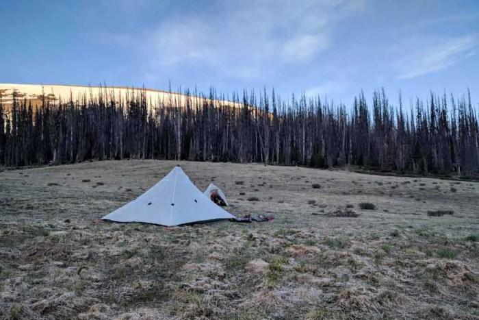 CDT-Colorado-Campsite-Sunset