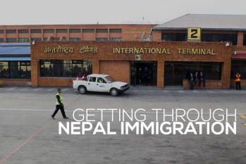 How To Get Through Nepal Immigration, Quickly and Easily