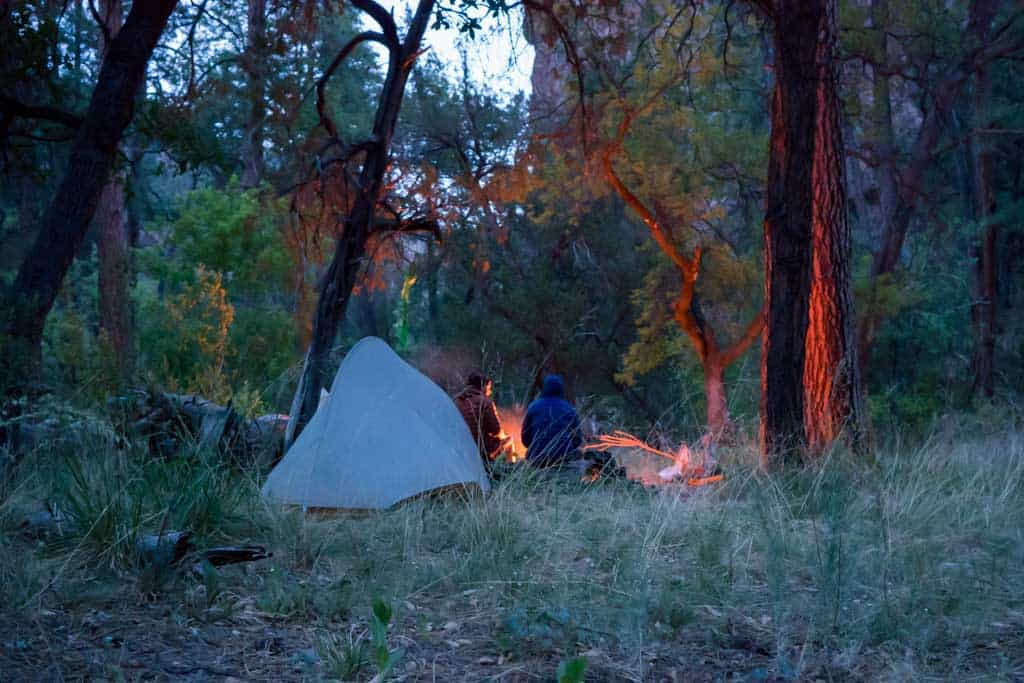 CDT-New-Mexico-Gila-Appa-Moist-Campsite-Night