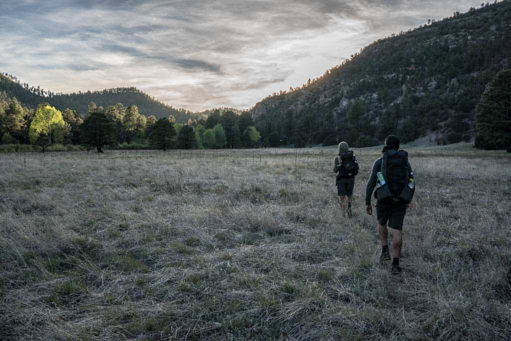 CDT-New-Mexico-Gila-Appa-Moist-Sunset-Meadow