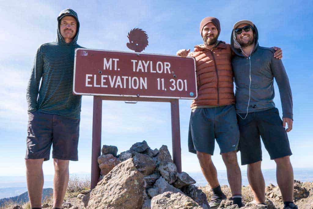 CDT-New-Mexico-Photo-Gallery-Appa-Moist-Mac-Mount-Taylor-Summit