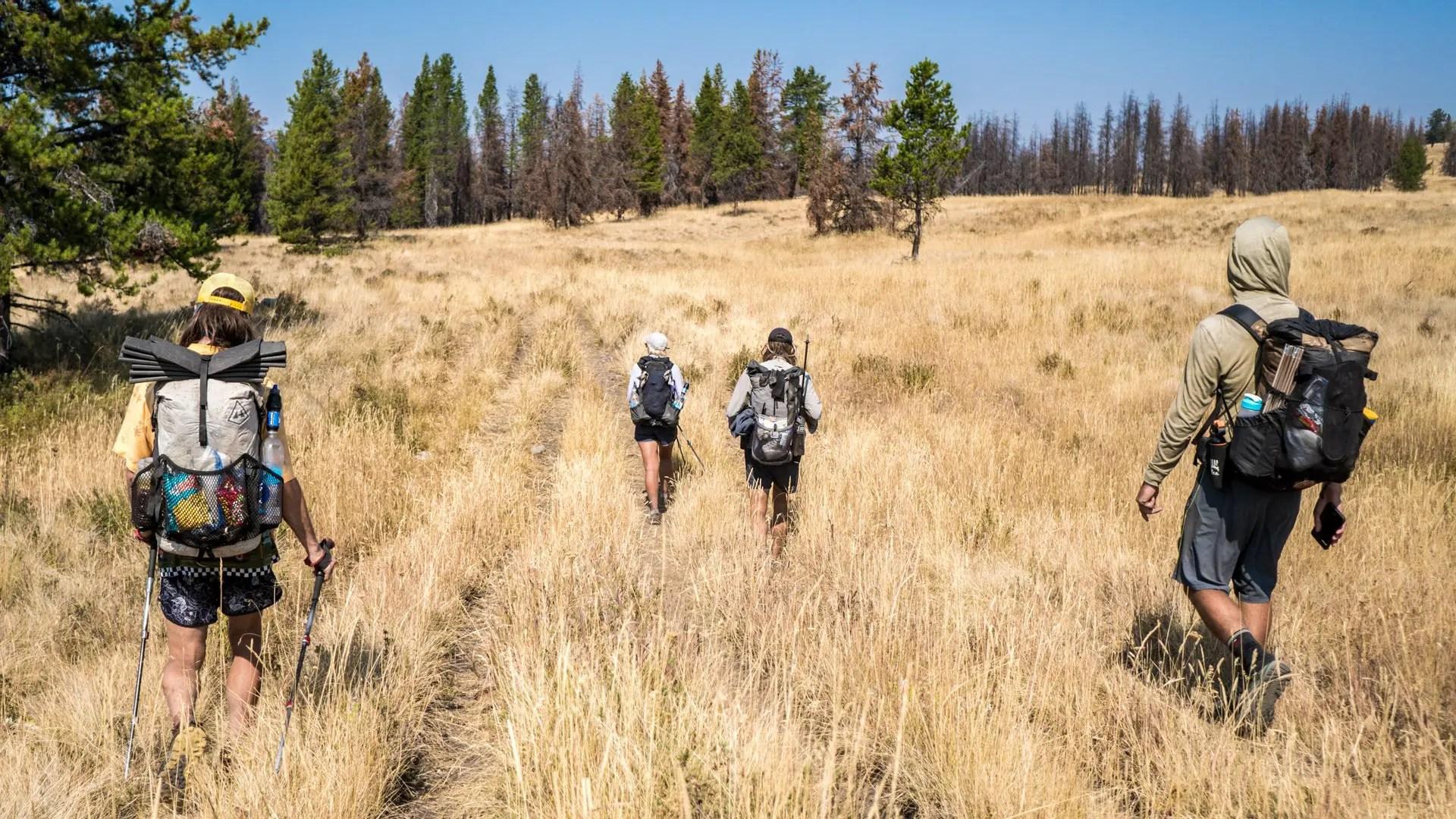 CDT Montana Thru-hikers