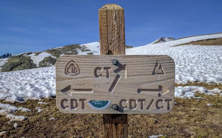 CDT Colorado Trail Sign
