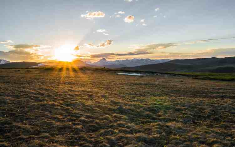 CDT Colorado Hillside Sunset