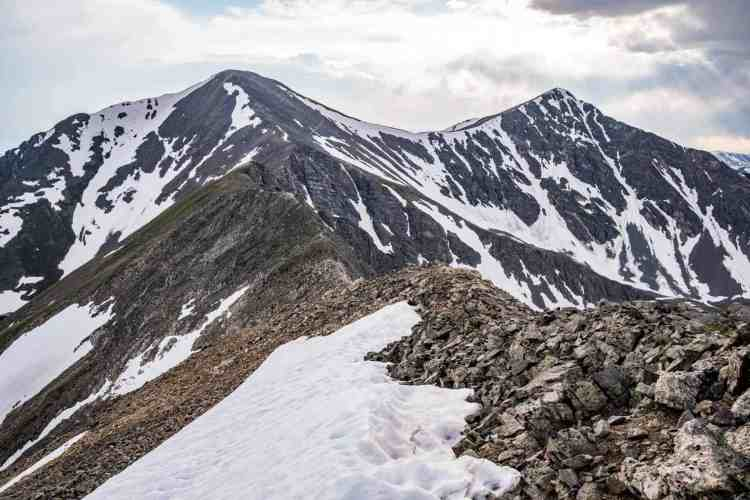 CDT Colorado Grays Peak Ridgeline