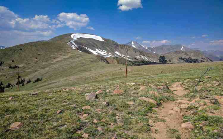 CDT Colorado Monarch Mountain Trail