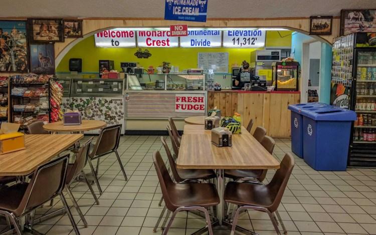 CDT Colorado Monarch Pass Shop