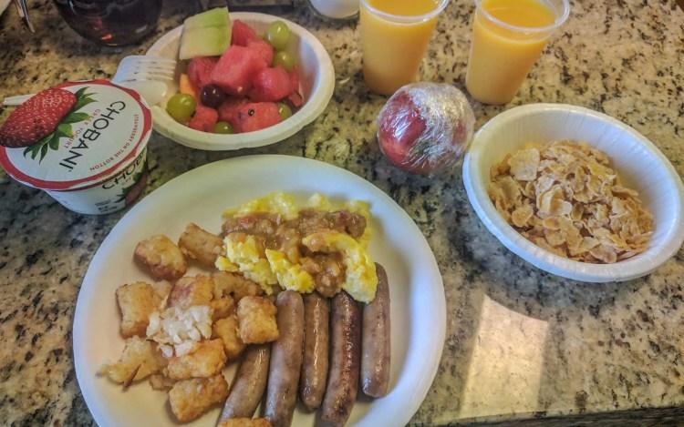 CDT Colorado Salida Breakfast