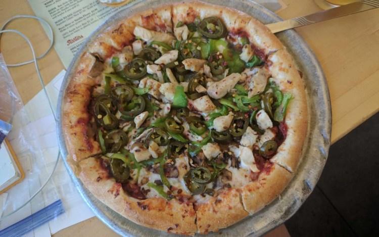 CDT Colorado Salida Pizza